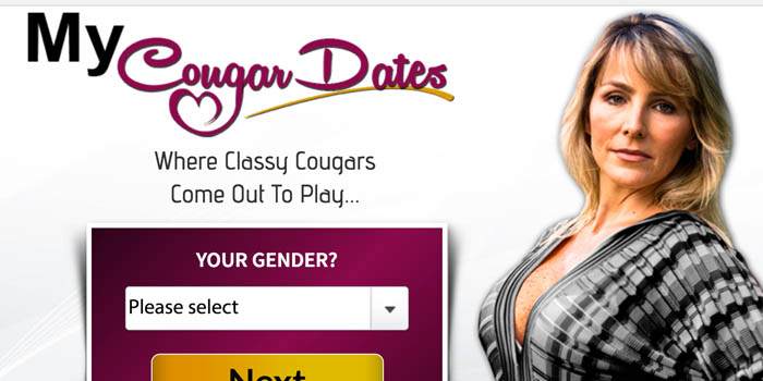 My Cougar Dates Homepage
